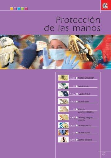 Protección de las manos - Groupe RG