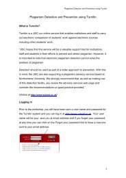Plagiarism Detection and Prevention using Turnitin