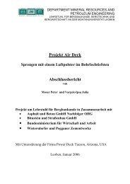 Projekt Air Deck - Sprengen mit einem Luftpolster ... - Arbeitsinspektion