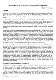 A construção de Projeto Político Pedagógico - Drb-assessoria.com.br
