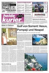 Golf von Sorrent: Vesuv, Pompeji und Neapel