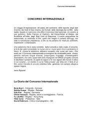 concorso internazionale - Locarno Film Festival