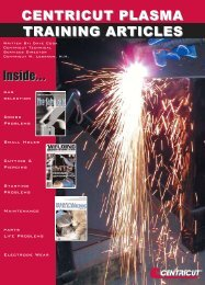 Training Articles Journal - Centricut