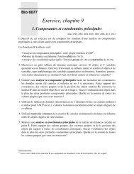 Second exercice, chapitre 9: ACP, ACoP et AFC