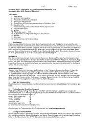 Protokoll der Delegiertenversammlung 2010 - SVPK