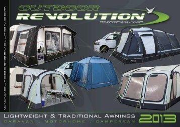 2013 Outdoor Revolution Brochure - Blue Diamond
