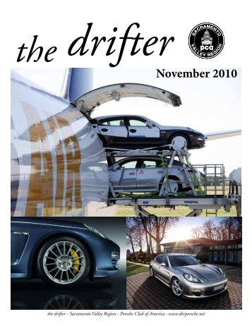 Drifter The - Sacramento Valley Region - Porsche Club of America