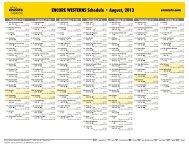 ENCORE WESTERNS Schedule - August, 2013 - Starz