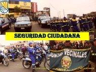 Seguridad Ciudadana - Municipalidad de Villa El Salvador