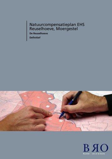 Bijlage 6 Natuurcompensatieplan EHS Reuselhoeve, Moergestel