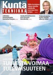 Lataa (pdf) - Kuntatekniikka