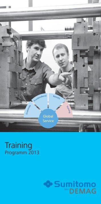 Trainingsprogramm 2013 - Sumitomo (SHI)