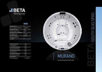 MURANO - Whirlpools