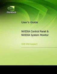 NVIDIA Control Panel & NVIDIA System Monitor - Nvidia's Download ...