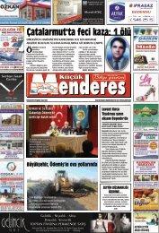 13 Kasım Tarihli Küçükmenderes Gazetesi