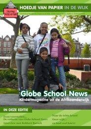 Even voorstellen... De redactie van Globe School News ... - Wijktijgers