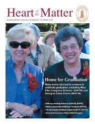 Summer 2005 - Sacred Heart Schools