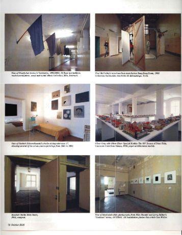 """Report from Berlin: Street Life,"" Art in America ... - Richard Kalina"