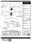 W -FDH Series - Front Face Make-up Air Canopy - Duo-Aire - Page 2