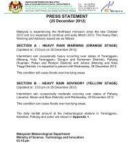 25 December 2012 - Jabatan Meteorologi Malaysia