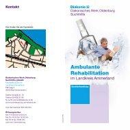 Ambulante Rehabilitation - Diakonie im Oldenburger Land