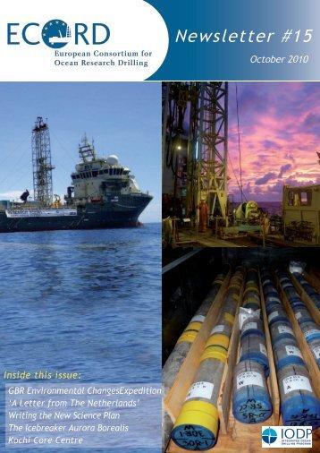 14 - European Consortium for Ocean Research Drilling