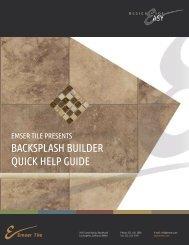 Room Scene Designer - View or Download our .pdf ... - Emser Tile