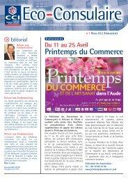 Eco-Consulaire 1 - (CCI) de Narbonne, Lézignan-Corbières et Port ...