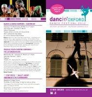 Brochure Download - Dancin' Oxford