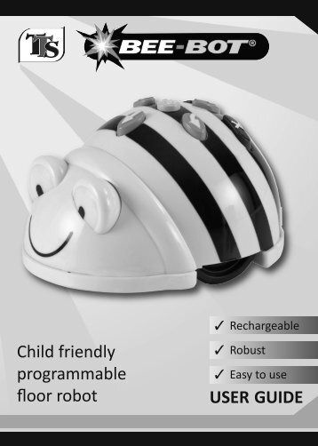 Child friendly programmable floor robot USER GUIDE - TTS