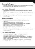 Child friendly programmable floor robot USER GUIDE - TTS - Page 5