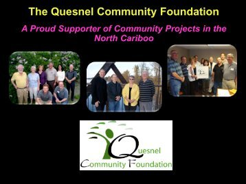 Community Foundations - Quesnel Community Foundation
