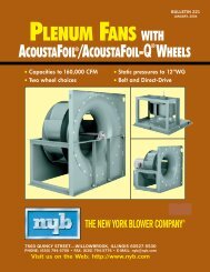 arrangement - New York Blower
