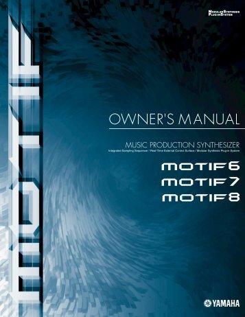 MOTIF Manual - SampleKings