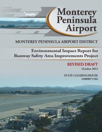 Monterey Revised Draft Environmental Impact Report – October 2012