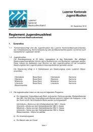 Reglement Jugendmusikfest neu 25102010 - Musiktag Hildisrieden