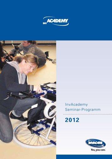 Seminarprogramm 2012 - Invacare