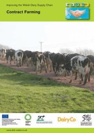 Contract Farming - Dairy Development Centre