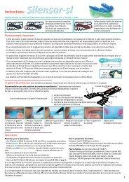 Gouttière de propulsion mandibulaire Instructions: - Erkodent