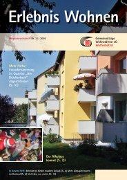 Ausgabe 12 / 2006 - Gemeinnützige Wohnstätten eG Wolfenbüttel