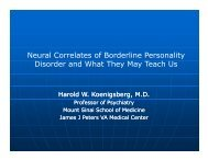 Neural Correlates of Borderline Personality Disorder and What They ...