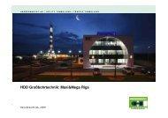 Neue Anwendungsgebiete für HDD/SDD KWKW - Schenk AG