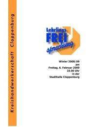 Programm - beim Handwerk im Landkreis Cloppenburg