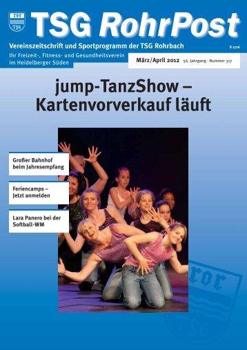 März/April 2012 - TSG Heidelberg-Rohrbach