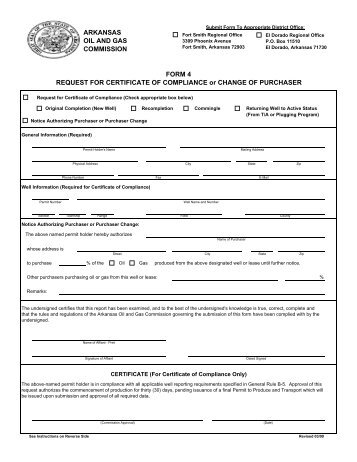 Form 33 Certificate of Plumbing Compliance