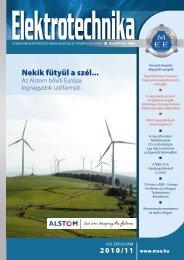elektrotechnika-2010-11.pdf - Magyar Elektrotechnikai Egyesület