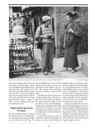 Heft 29 Tibet & Buddhismus