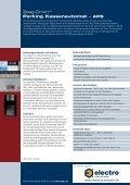 Zeag-OrionXR Parking Kassenautomat – APS - Electro Automation ... - Seite 2
