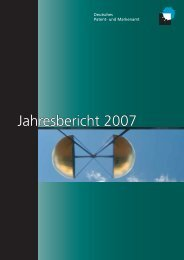 Jahresbericht 2007 - Presse - DPMA