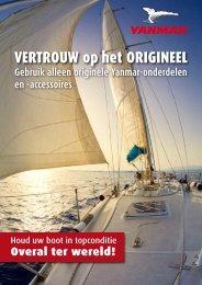 VERTROUW op het ORIGINEEL - Yanmar Benelux